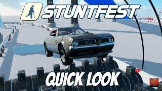 Stuntfest Gameplay- Quick Look- Ragdoll Physics Death!