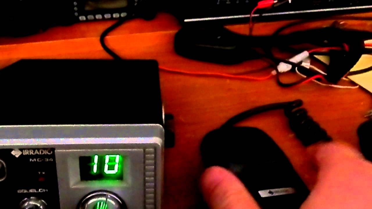 Schemi Elettrici Radio Cb : Irradio mc il mio primo cb youtube