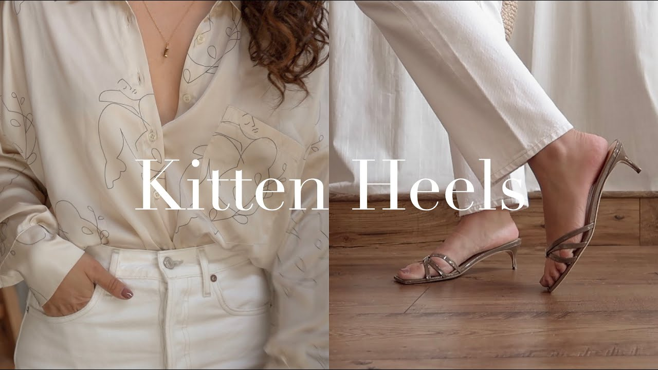 Spring & Summer Outfits Styling Kitten Heels 2019 | Gemary 6