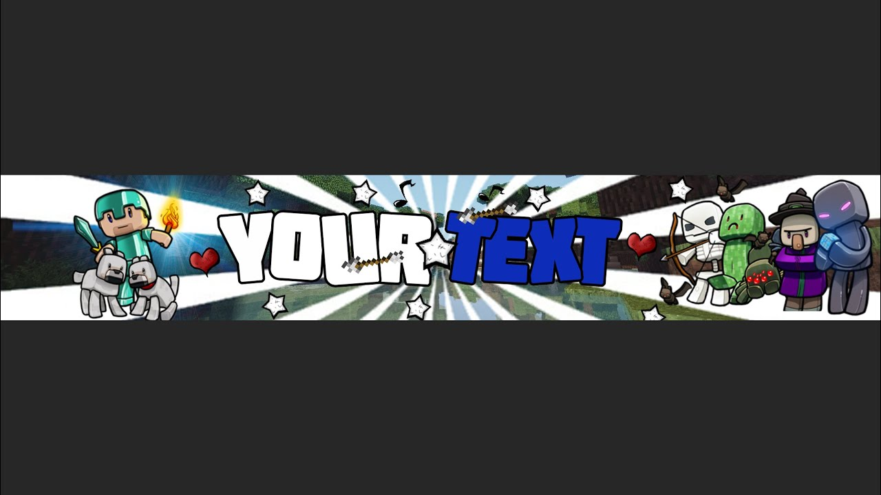 minecraft free banner template photoshop cc w tutorial wisiarts youtube. Black Bedroom Furniture Sets. Home Design Ideas