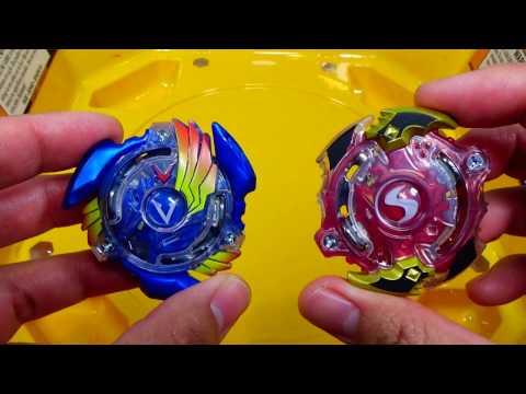 EPIC RIVALS Beyblade Burst Battle!! Valtryek V2 vs Spryzen S2