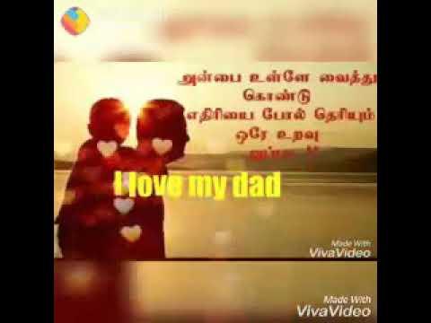 Anbulla appa whatsapp status vedio