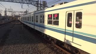 東武野田線8000系 春日部駅入線
