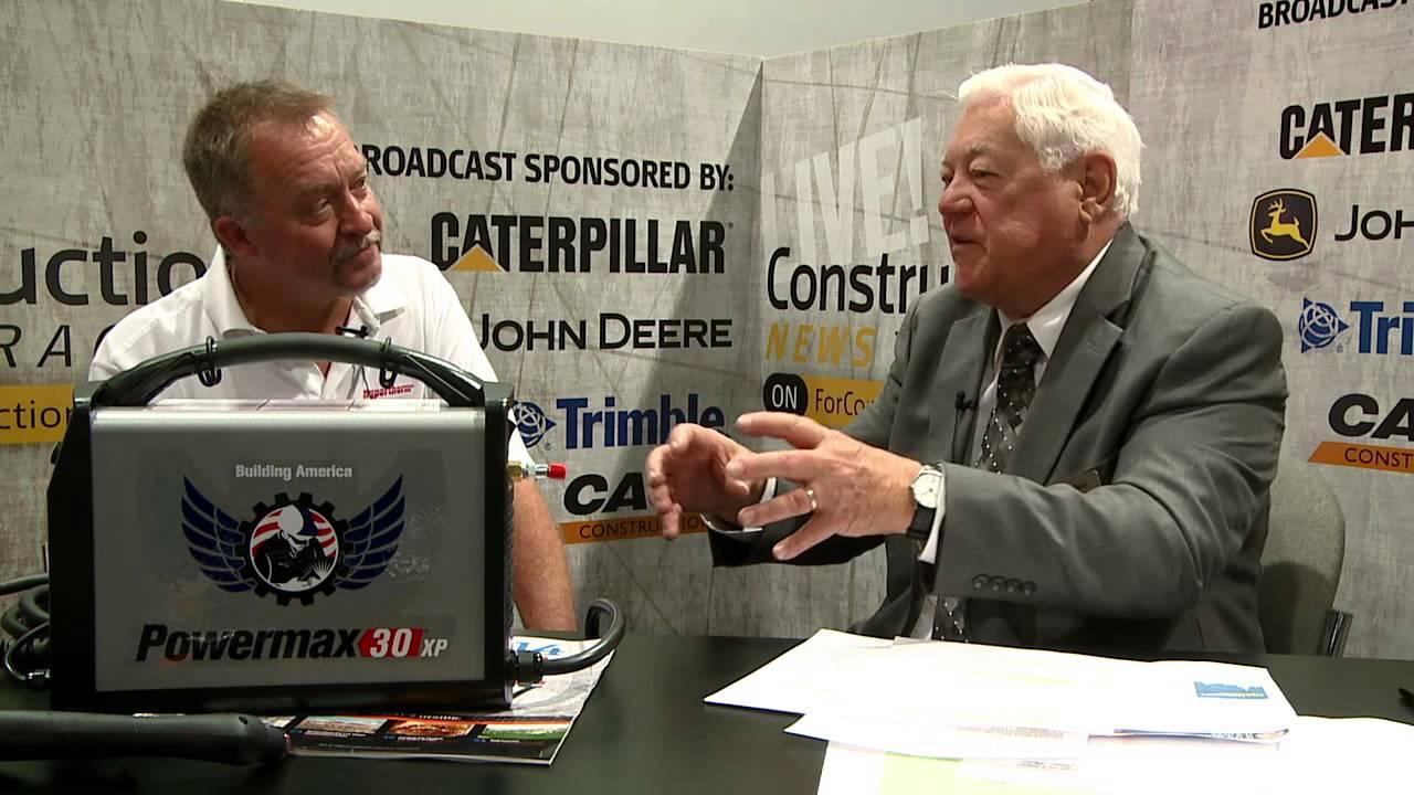 CONEXPO Video: 25-lb  Hypertherm Plasma Cutter Cuts 5/8-in