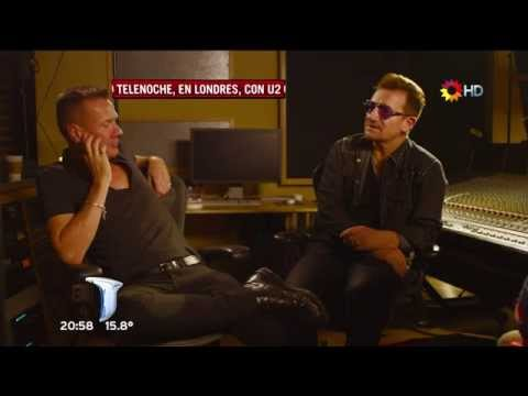 U2 - London Interview 2014 (Canal 13 HD Argentina) Part 1