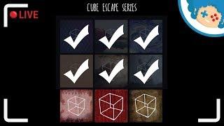 Staszek nadrabia Cube Escape #5 | Zapis LIVE