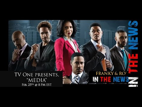 """New TV One Movie, """"Media,"""" starring Stephen Bishop & Penny Johnson Jerald (Full Interview)"""