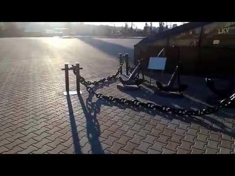 Музей якорей в Одессе//Museum of anchors in Odessa
