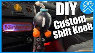 DIY با قنبلة (Bob-omb) شيفتر (كيفية جعل العرف شيفتر مقبض الباب) Russlyman