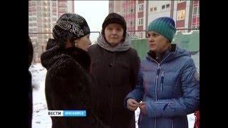 В Красноярске на улице Серова сгорел частный двухэтажный жилой дом