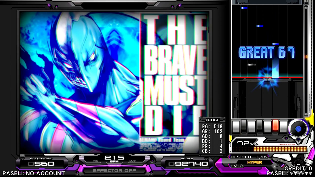 Beatmania Iidx 27 Heroic Verse The Brave Must Die  Sph