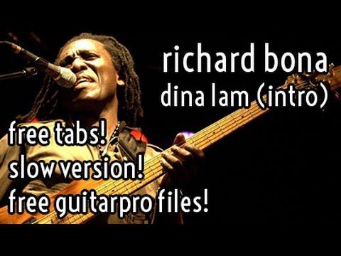Lesson #6 // Richard Bona - Dina Lam (intro)