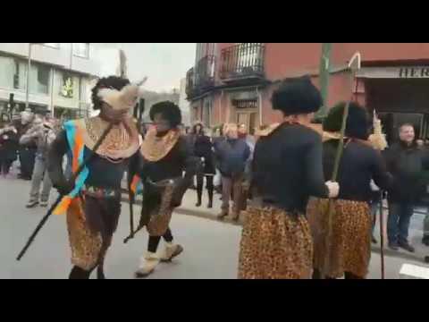 O Entroido volve animar as rúas de Sarria