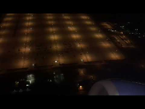 Late Night B737-700 Scenic takeoff out of Denver