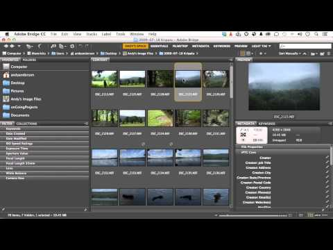 Adobe Photoshop CC For Photographers Tutorial | Performing A Batch Rename