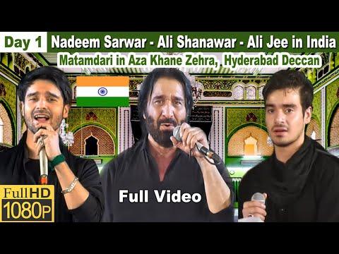 Majlis-e-Aza Khane-Zehra | Safeer-e-Aza Nadeem Sarwar Matamdari | Hyderabad, India