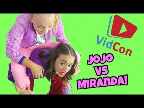 VIDCON: JoJo vs Miranda Sings