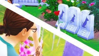I WASN'T READY 😢 // The Sims 4: Cats & Dogs #25