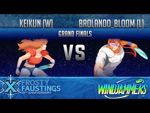 FFX - Windjammers GRAND FINALS - Keikun [W] (Mita, Costa) vs BSA Brolando_Bloom [L] (Miller, Biaggi)