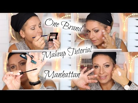 One Brand Makeup Style, Talk & Tutorial MANHATTAN / Drogerie full face / Mamacobeauty