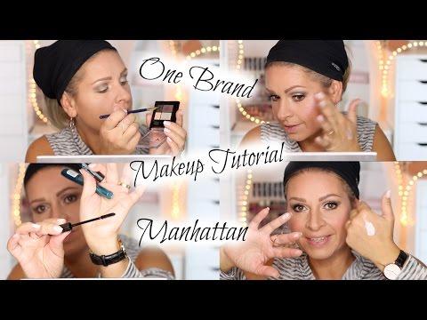 One Brand Makeup Style, Talk & Tutorial MANHATTAN / Drogerie full face / Mamacobeauty