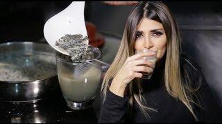 مشروب الشاي الأخضر وحليب اللوز لخسارة الوزن والدهون في آن