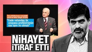 Ali Karahasanoğlu   Nihayet itiraf etti   Prof  ile yurttaşın oyu aynı olur mu
