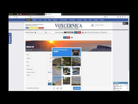Inregistrare - autentificare in portalul Vox Cernica