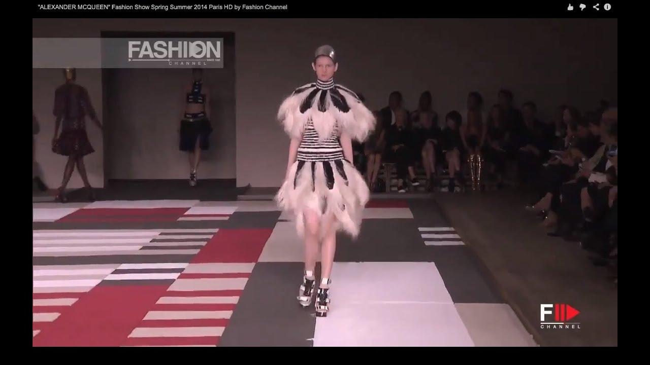 """""""ALEXANDER MCQUEEN"""" Fashion Show Spring Summer 2014 Paris ..."""