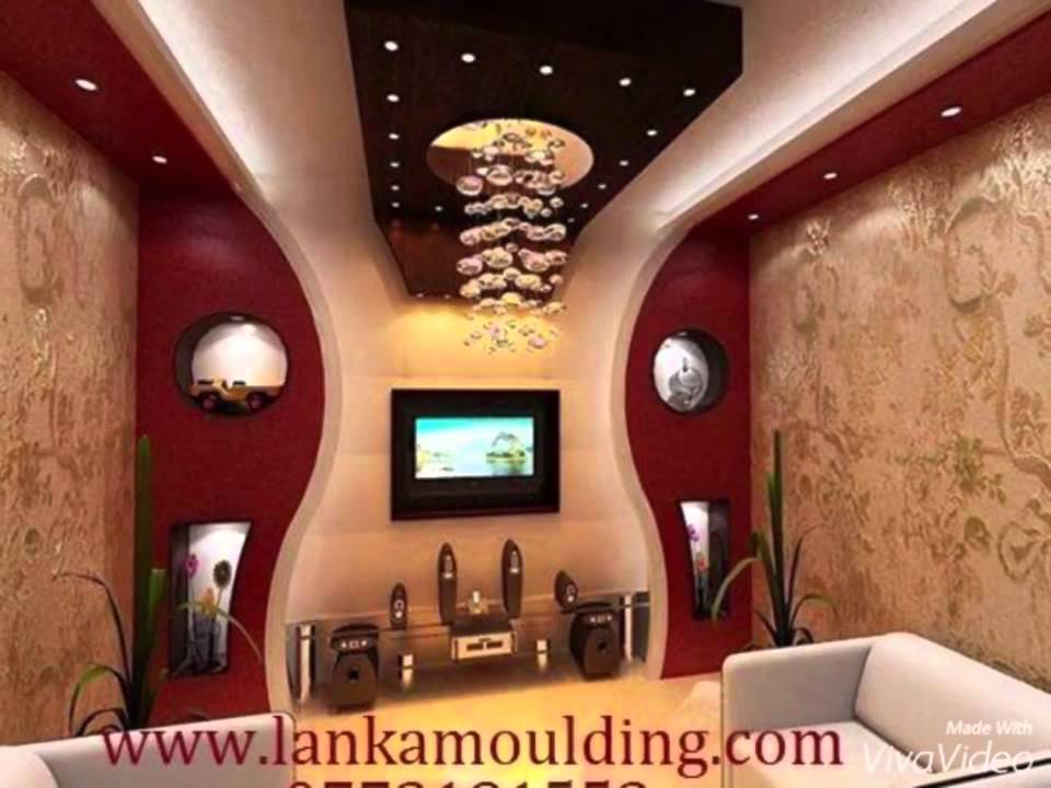 Latest False Ceiling Designs 2016 For Living Room Design Ideas Black And White Lanka Letest Srilanka Youtube Premium