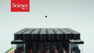 Researchers Create A Sonic Tractor Beam With Loudspeakers
