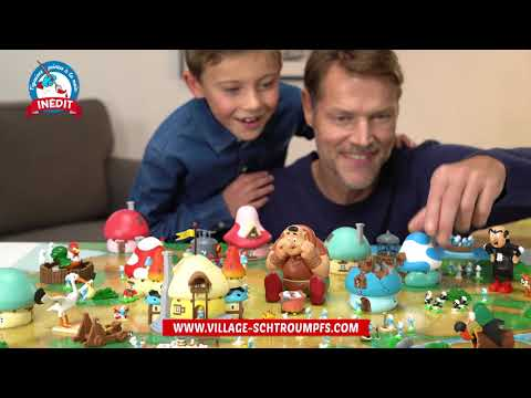 Vidéo Village des Schtroumpfs | Hachette Collections