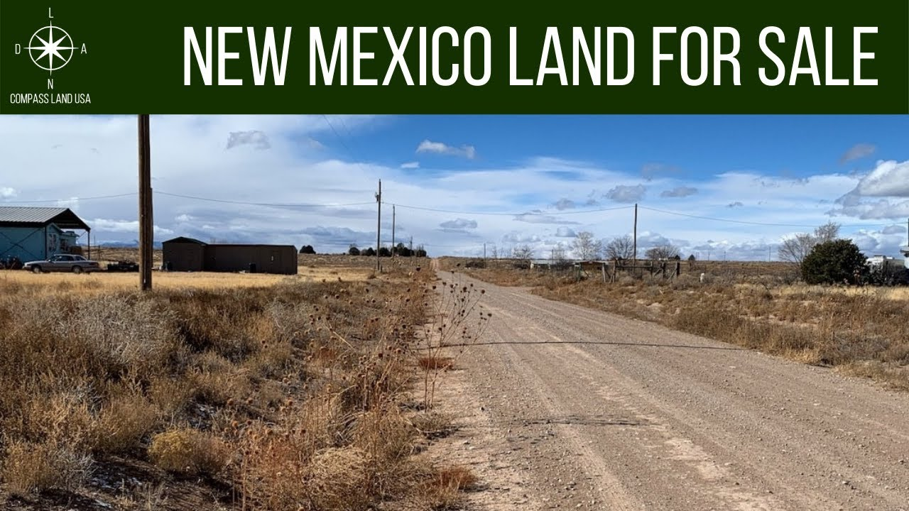 SOLD - 1 Acres - With Power, RV Ok! In McIntosh, Torrance County NM