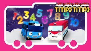 Video Titipo Songs l Titipo Number Song l Tayo Nursery Rhymes l Tayo the Little Bus download MP3, 3GP, MP4, WEBM, AVI, FLV Agustus 2018