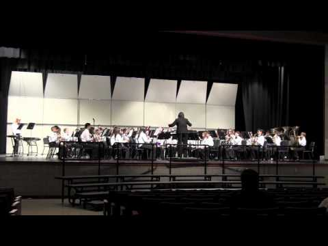 Mount View MS Symphonic Band -- Music in the Parks 2012 at Hersheypark