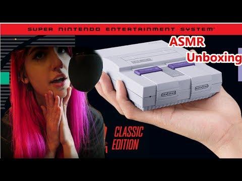 ASMR Unboxing: SNES Mini | LillyASMR