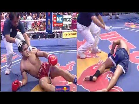 Thol Makra vs Tamrout Lek(thai), Khmer Boxing CNC 17 June 2017, Kun Khmer vs Muay Thai