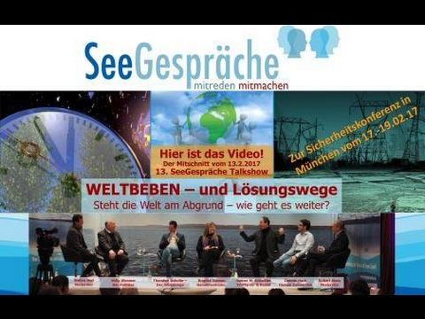 Seegespräche - WELTBEBEN - Willy Wimmer, Silberjunge Thorsten Schulte, Dennis Hack, Robert Stein uvm