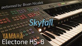 """Skyfall (Adele)"" - perf. by Bryan Nicalek (Electone HS-8)"