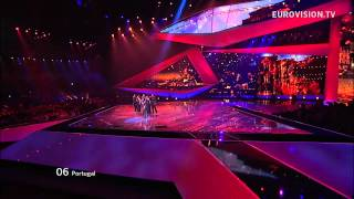 Filipa Sousa - Vida Minha - Live - 2012 Eurovision Song Contest Semi Final 2