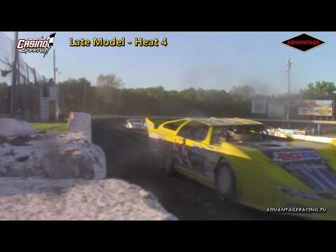 Late Model Heats - Casino Speedway - 6/3/18
