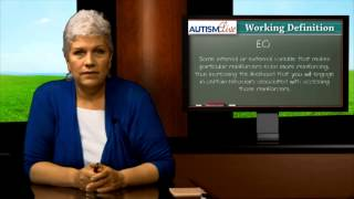 Autism Jargon: Establishing Operation