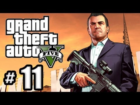 Grand Theft Auto 5 Gameplay Walkthrough Part 11 - The Jewel Store Job