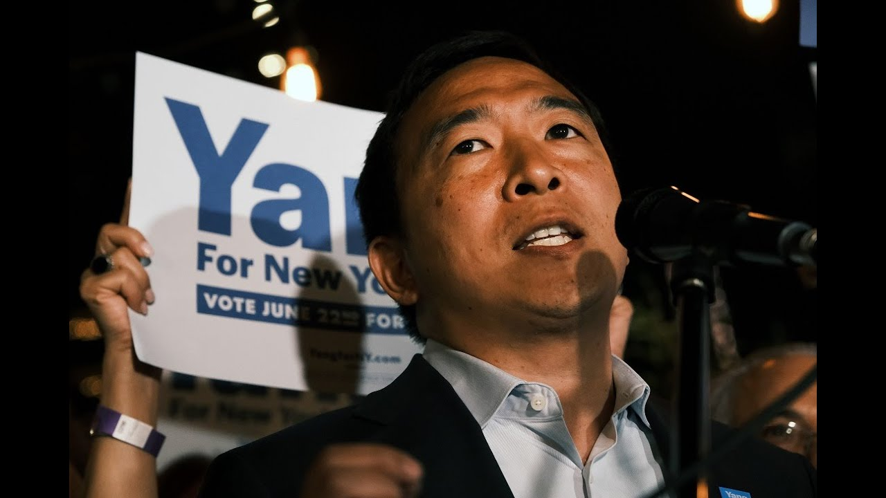 Andrew Yang, failed presidential and NYC mayoral candidate ...
