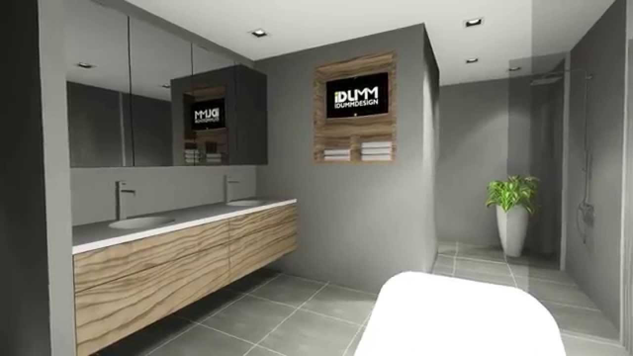 Master Bedroom 3d Design 3d design master bedroom with bathroom - youtube