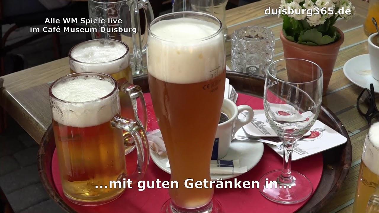 Auch ohne DEU Alle Spiele live im Café Museum Duisburg - YouTube