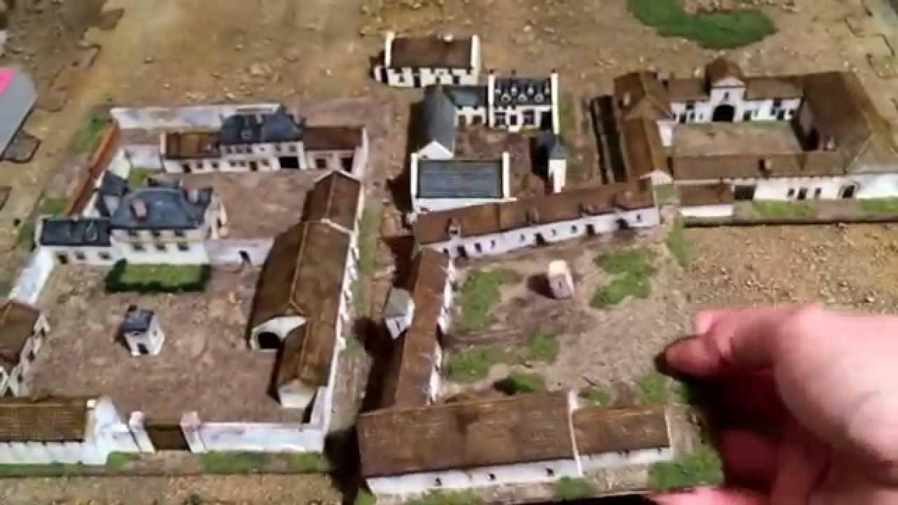 War games 6mm Waterloo buildings from Leven miniatures