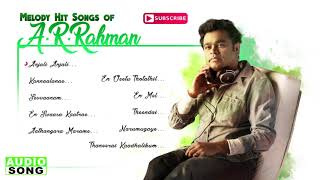 AR Rahman Tamil Melody Hit Songs | Audio Jukebox | Top 10 Melodies of AR Rahman | Music Master