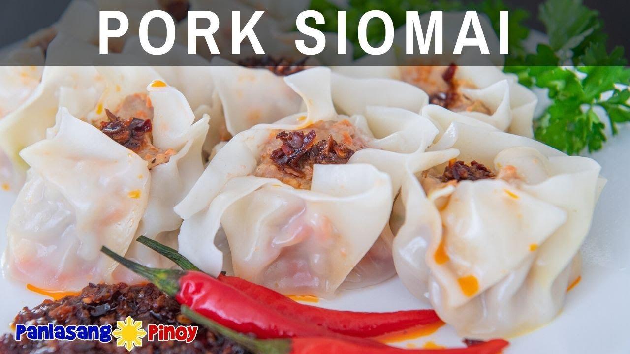 Pork Siomai - YouTube