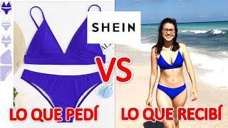 TRAJES DE BAÑO SHEIN/ LO QUE PEDÍ VS LO QUE RECIBÍ♥ BIKINIS Y ROPA DE HOMBRE